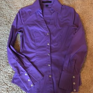 Purple express shirt to wear with suit